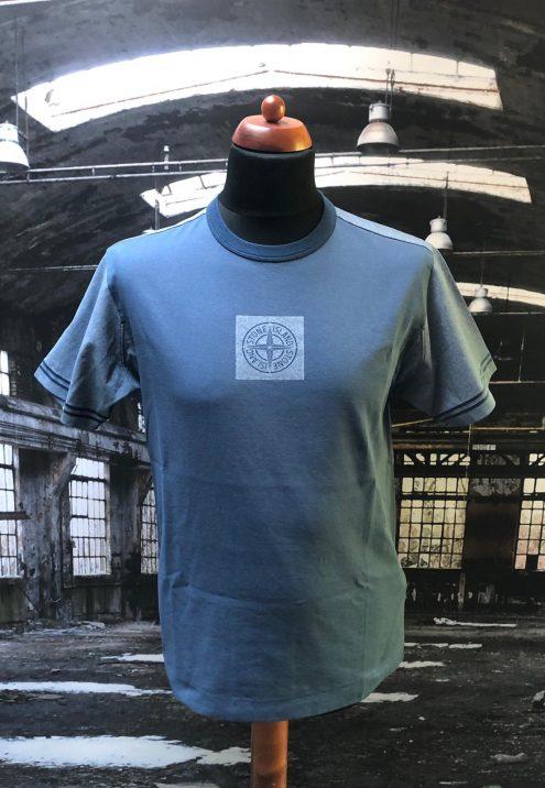 Stone island jersey placcato T shirt