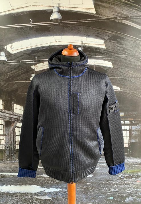 STONE ISLAND SHADOW PROJECT INSULATED KNIT JACKET