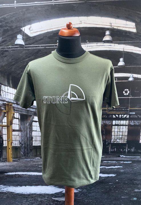 stone island compass t shirt