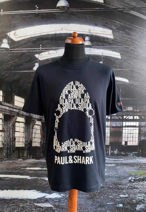 PAUL & SHARK SHARK LOGO SHIRT