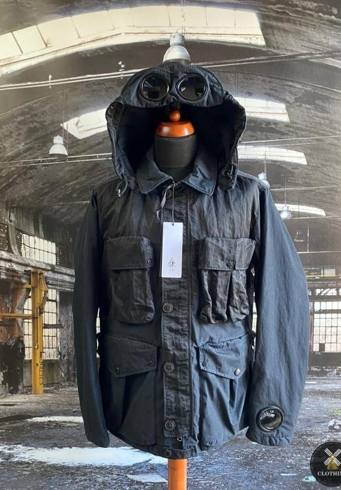 C.P. COMPANY 50 FILLI GOGGLE WATCHVIEUWER JACKET