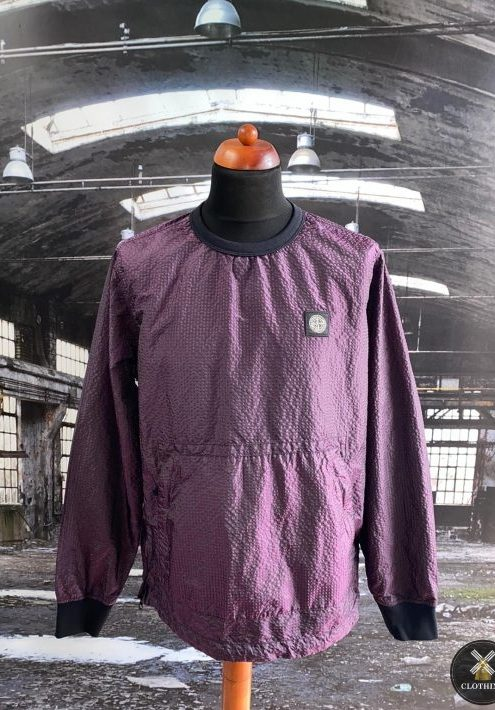 STONE ISLAND POLY COLOUR FRAME TC SMOCK