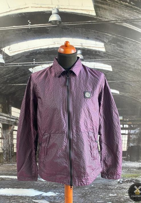 STONE ISLAND POLY COLOUR FRAME TC OVERSHIRT
