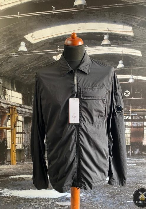 C.P. COMPANY NYCRA POCKET LENS OVERSHIRT JACKET