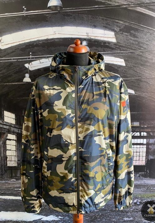 PAUL & SHARK CAMO HOODED JACKET