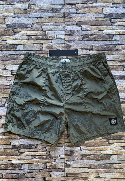 STONE ISLAND NYLON METAL SHORTS