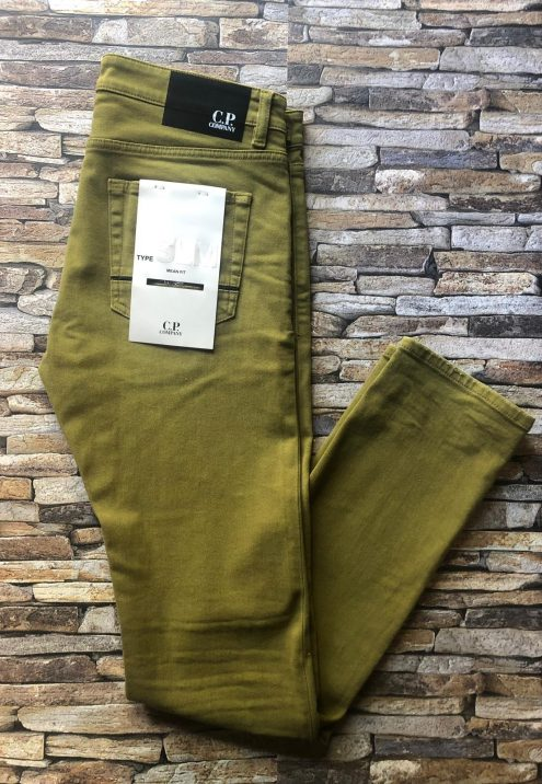 C.P. COMPANY SLIM FIT JEANS