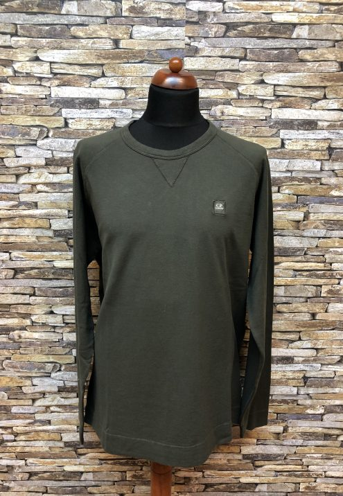 CP COMPANY PATCH SWEATER