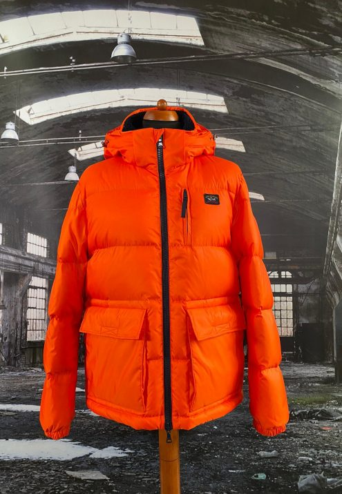 PAUL & SHARK HOODED DOWN JACKET