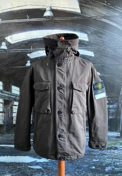 STONE ISLAND DAVID TC WITH SHEEPSKIN REMOVABLE INNER