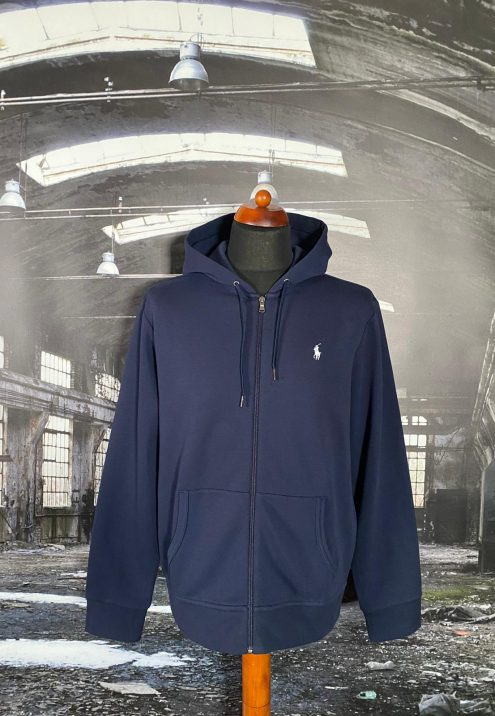 RALPH LAUREN FULL ZIP HOODED SWEATSHIRT