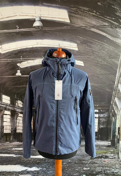 C.P. COMPANY RE COLOUR LENS HOODED JACKET