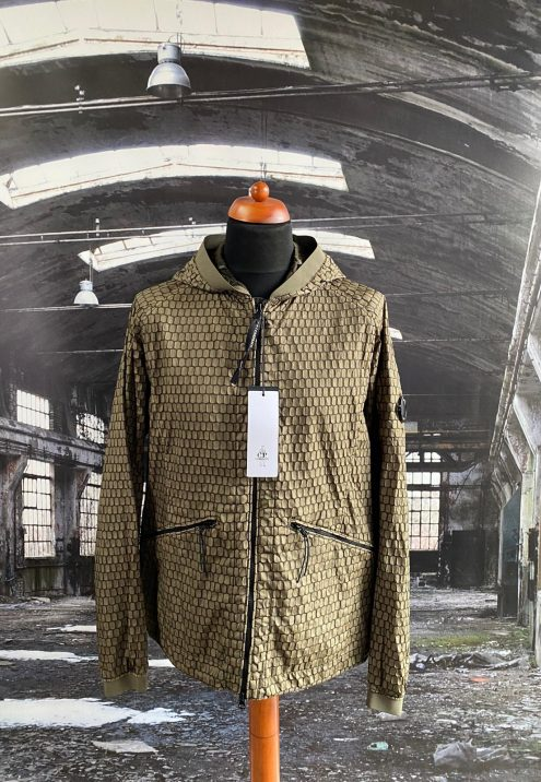 C.P. COMPANY AIR NET LENS JACKET