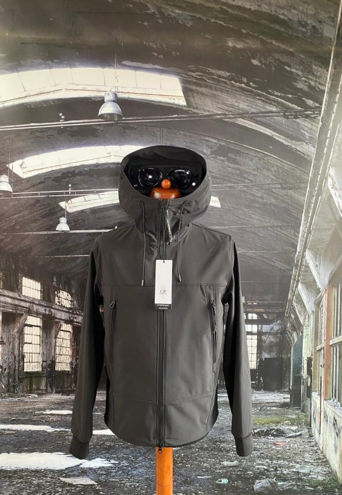 C.P. COMPANY SHELL - R MEDIUM GOGGLE JACKET