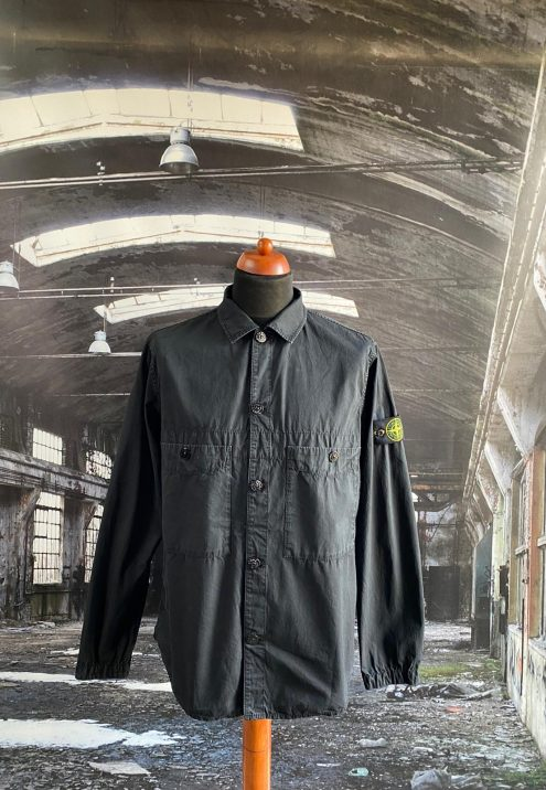 STONE ISLAND T.CO OLD MULTI POCKET OVERSHIRT