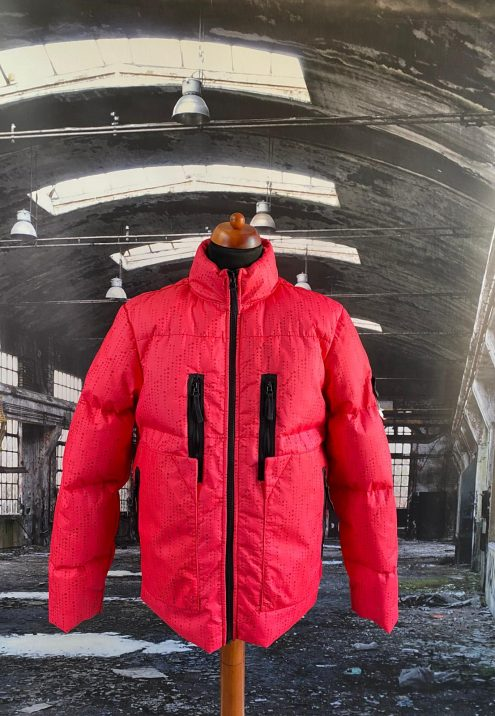STONE ISLAND SHADOW PROJECT LASERED POLY HIDE 2L JACKET